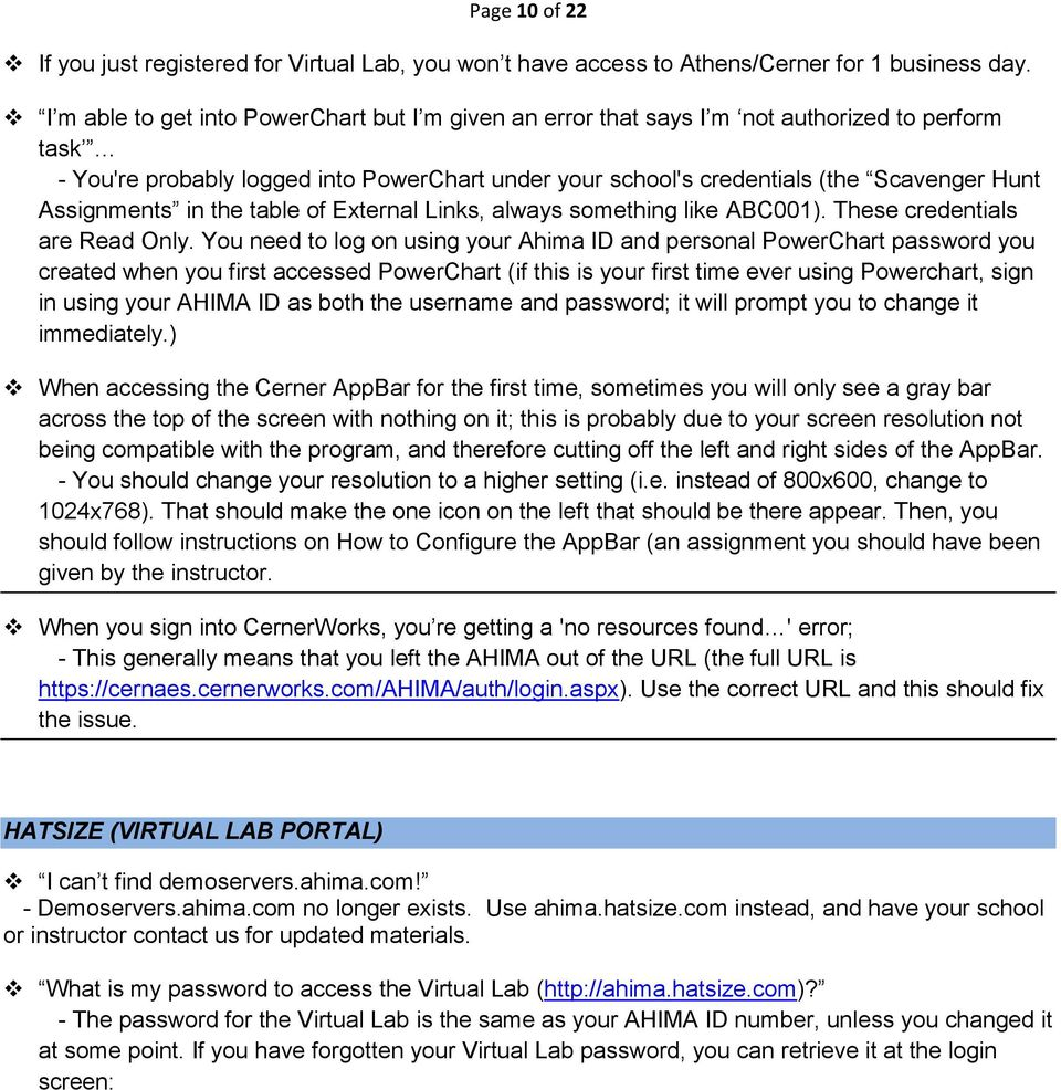 Page 1 of 22  Frequently Asked Questions & Troubleshooting Tips for