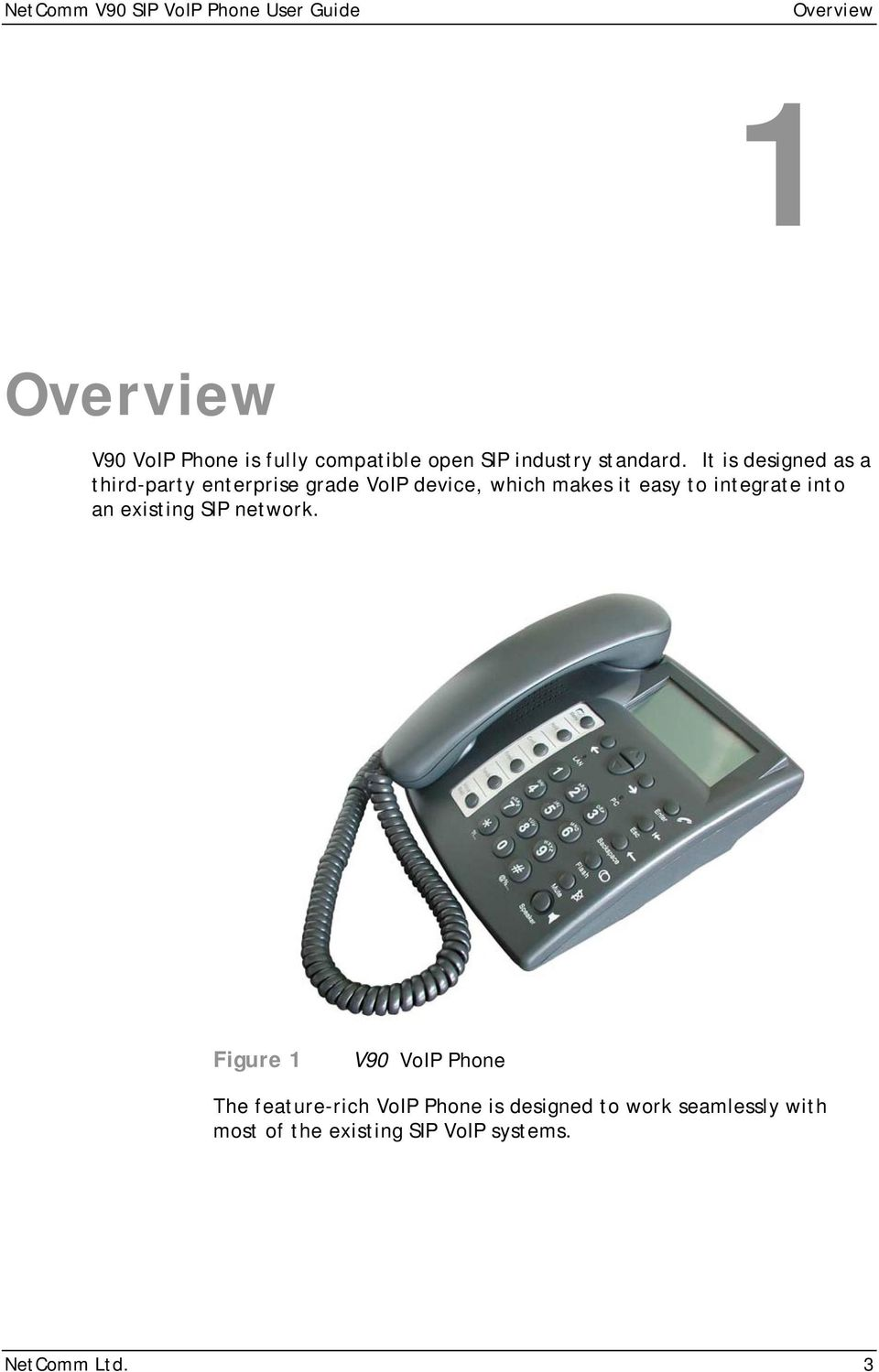 It is designed as a third-party enterprise grade VoIP device, which makes it easy to integrate