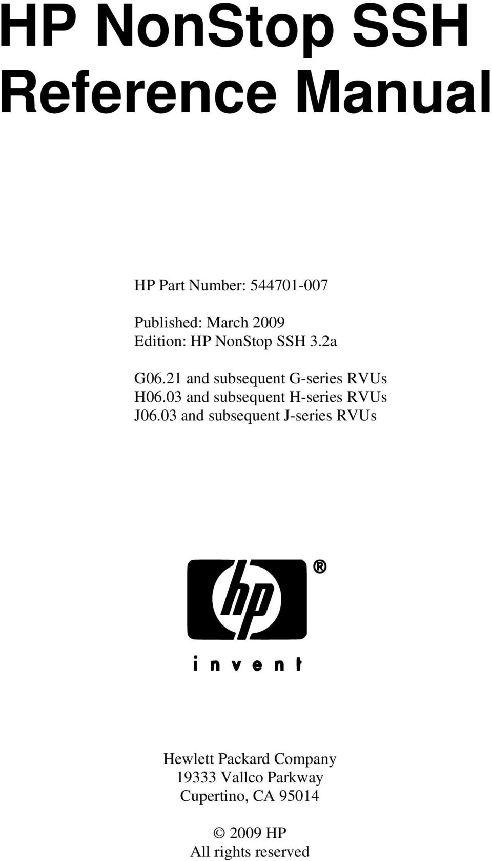 Tcp/ip configuration and management manual.