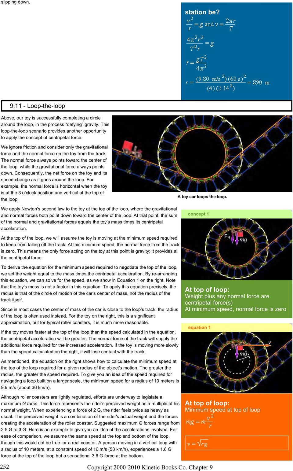 Uniform circular motion: Movement in a circle at a constant speed  - PDF
