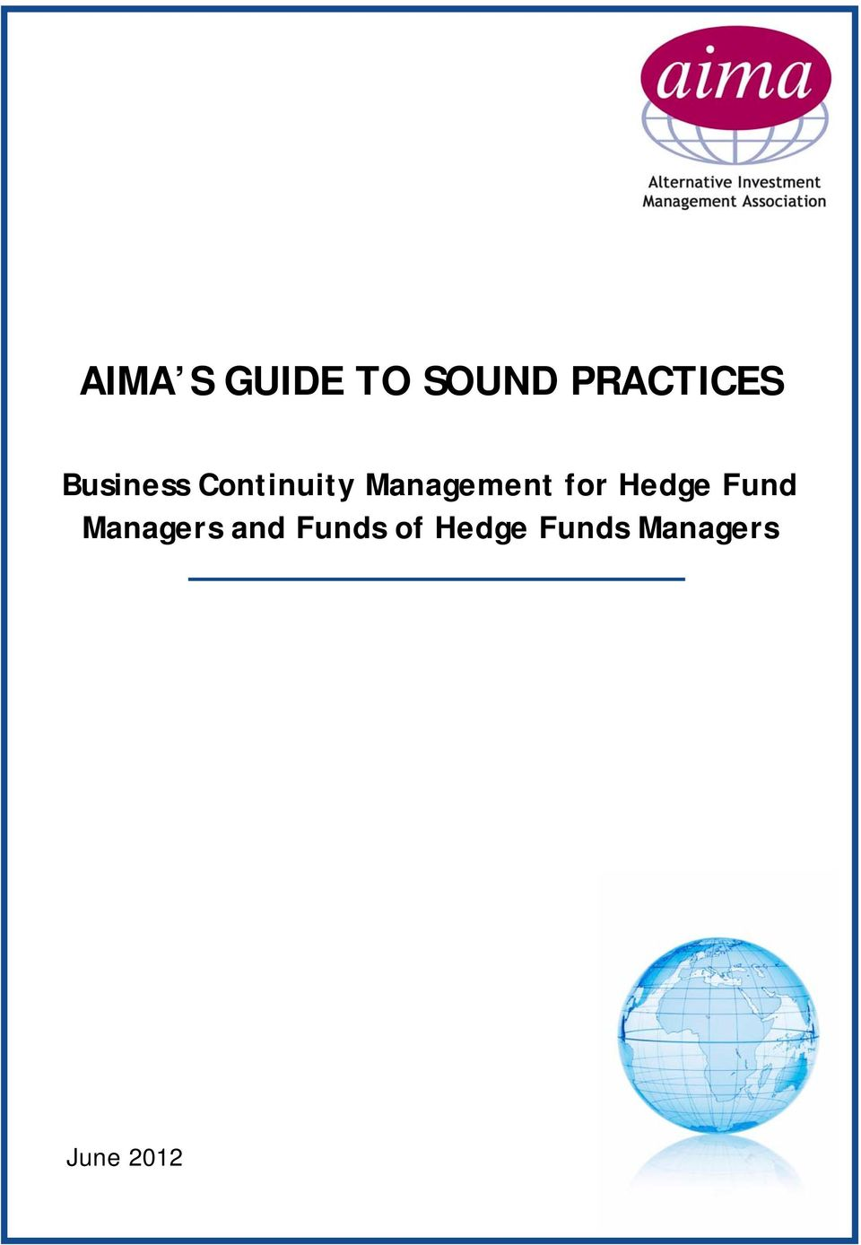 AIMA's New Illustrative Questionnaires for the Due ...