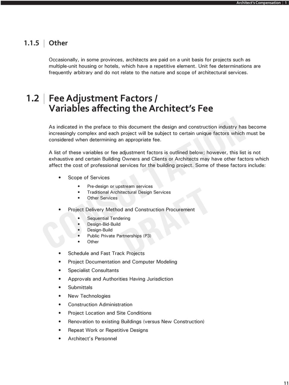 A Guide To Determining Appropriate Fees For The Services Of An