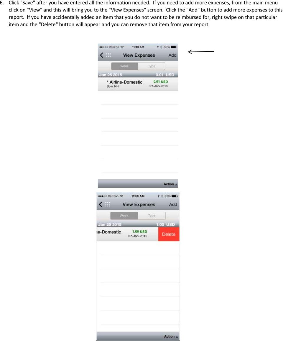 How to create an Expense Report through iexpense in the