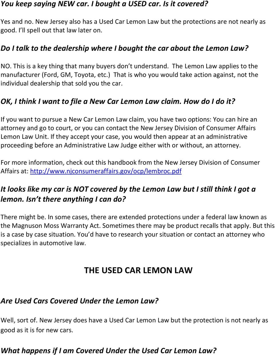 Lemon Law Virginia Used Car >> Lemon Law Virginia Used Car Upcoming New Car Release 2020