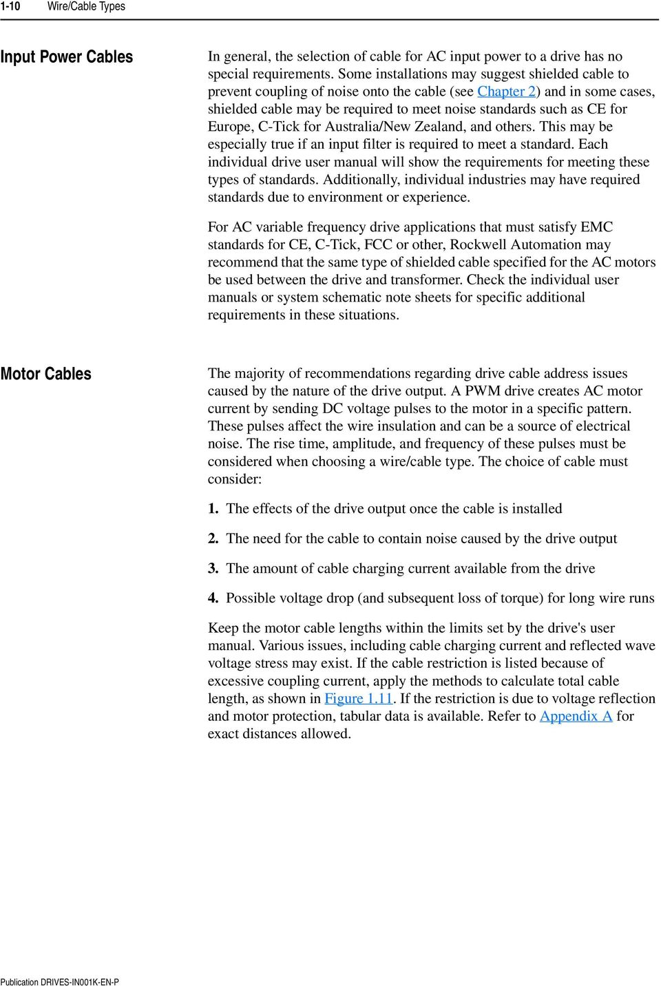 Installation Instructions Wiring And Grounding Guidelines For Pulse European Industrial Color Code Chart Free Download Europe C Tick Australia New Zealand Others This May 19 Wire Cable