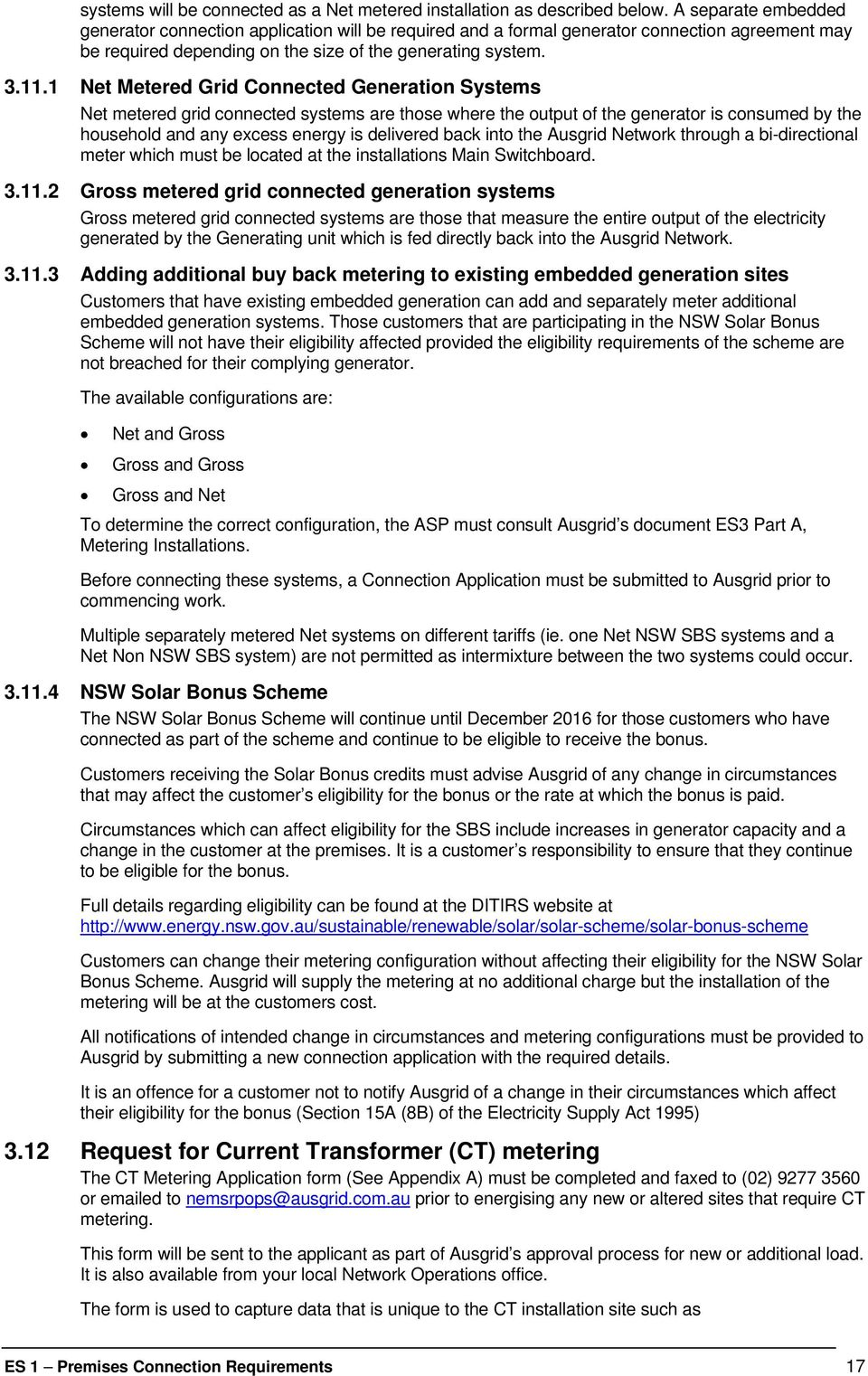 ELECTRICITY SUPPLY ACT 1995 NSW EBOOK
