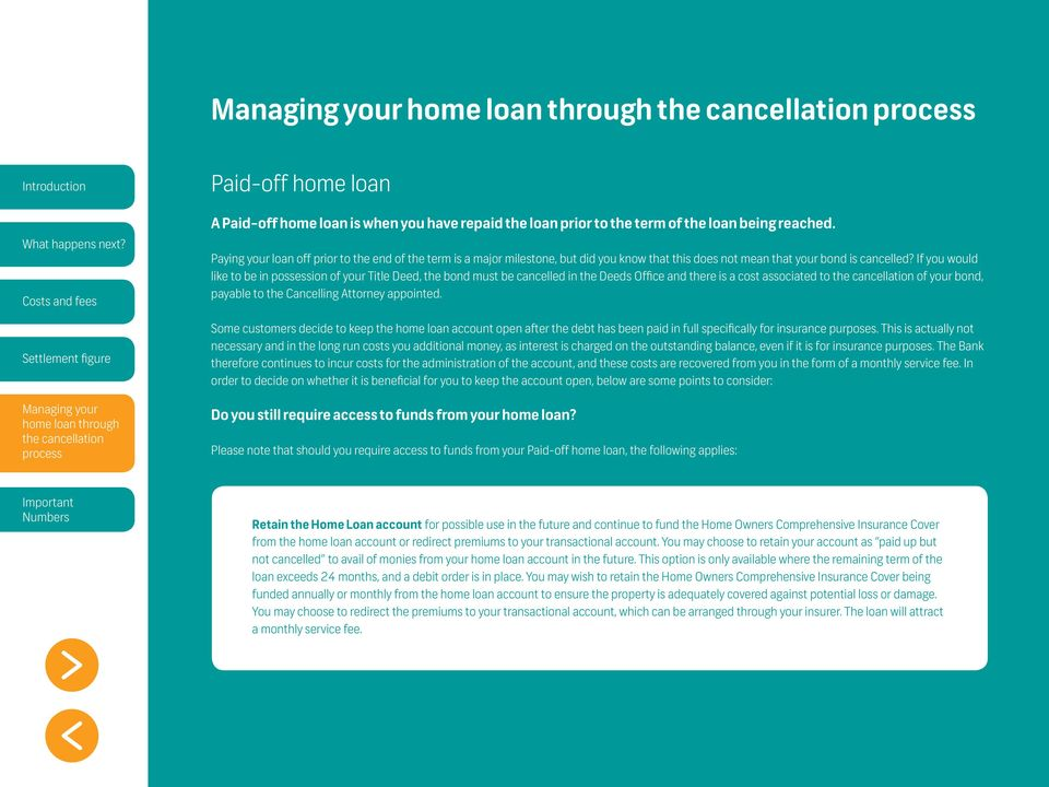 FNB Home Loans  Cancelling your bond with FNB Home Loans
