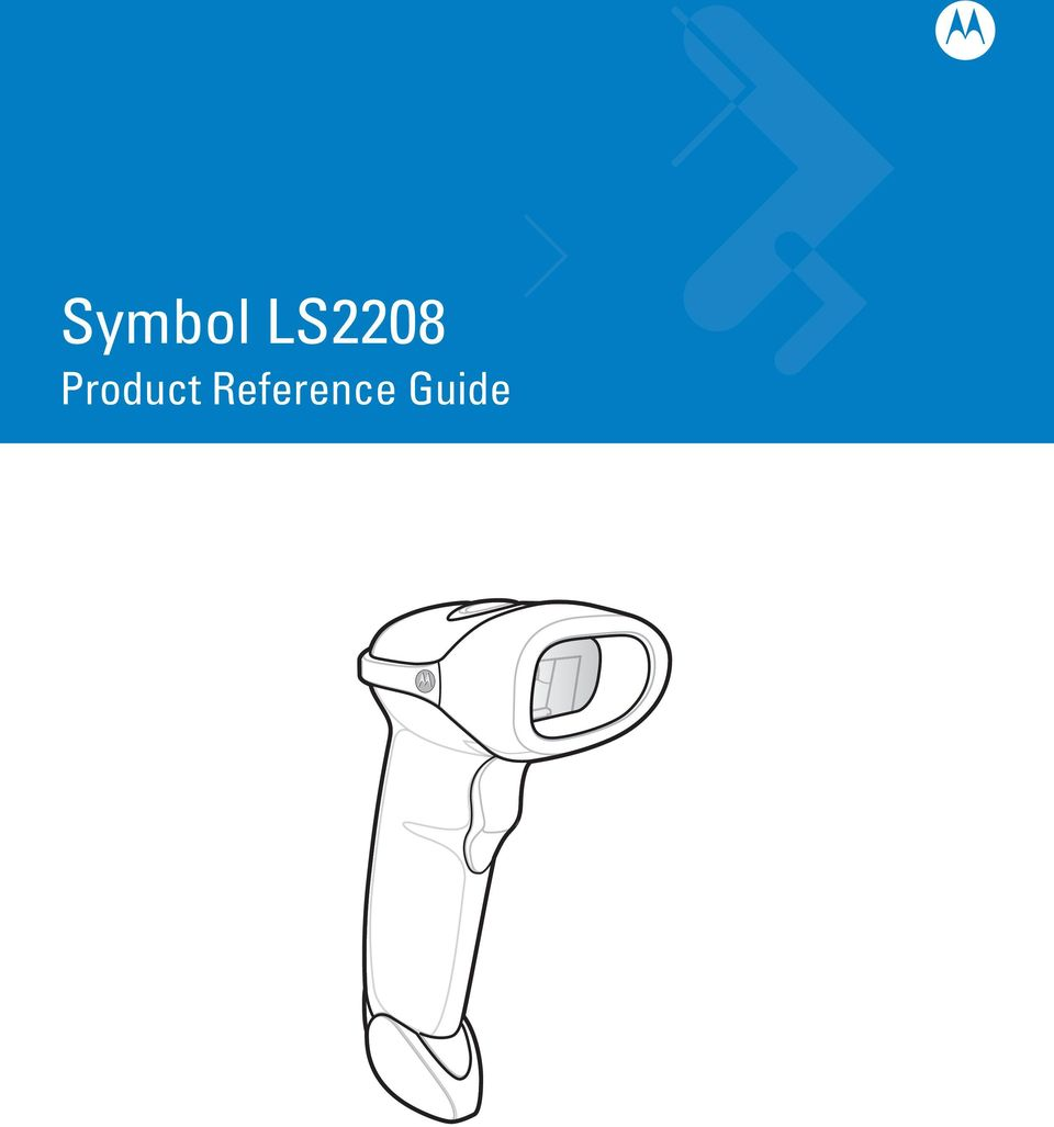 Symbol LS2208 Product Reference Guide - PDF