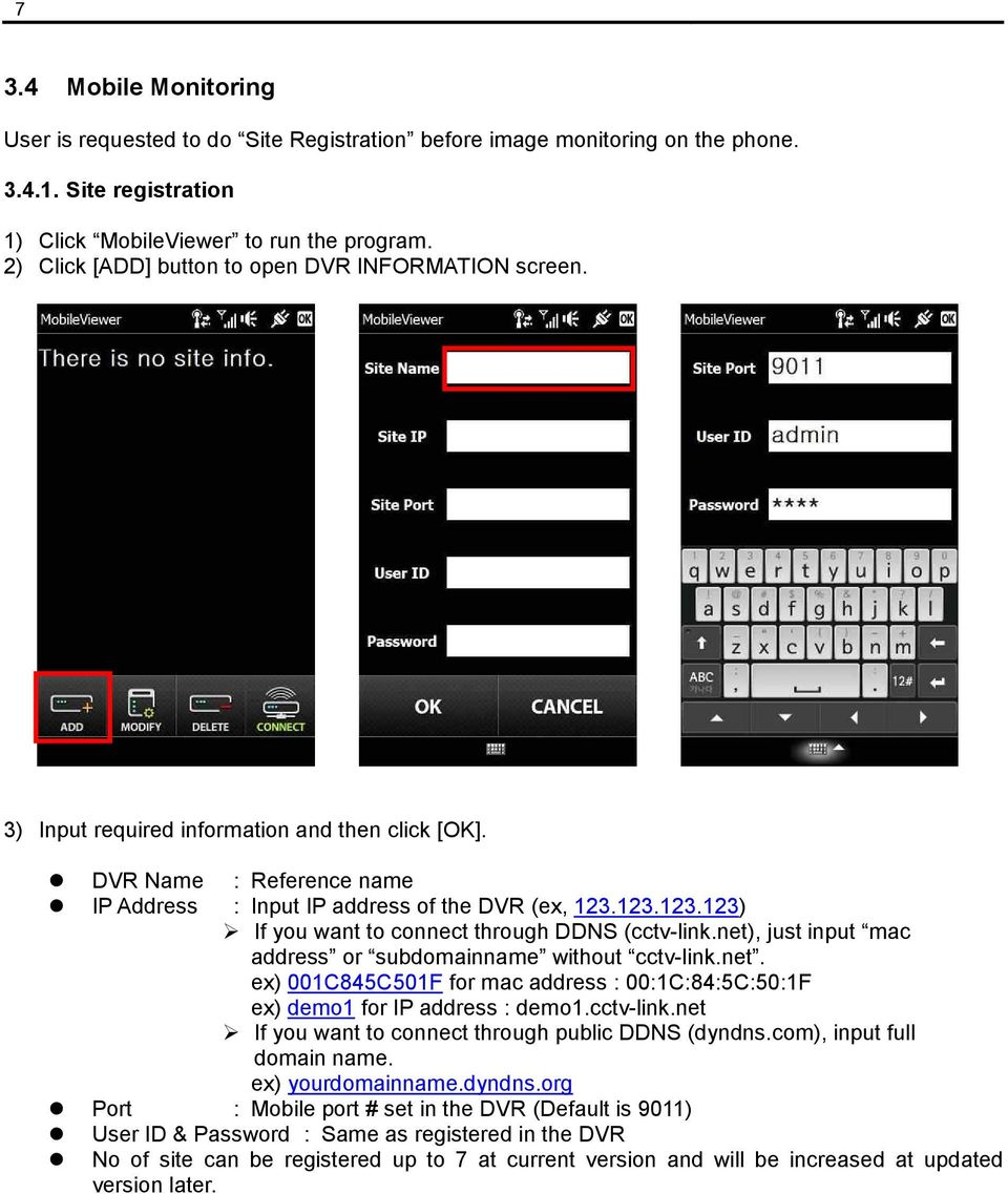 User Manual  Mobile Viewer  Mobile Manager Software (MMS) - PDF