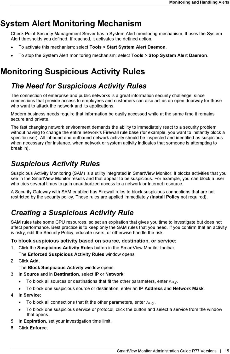 SmartView Monitor  R77 Versions  Administration Guide  21