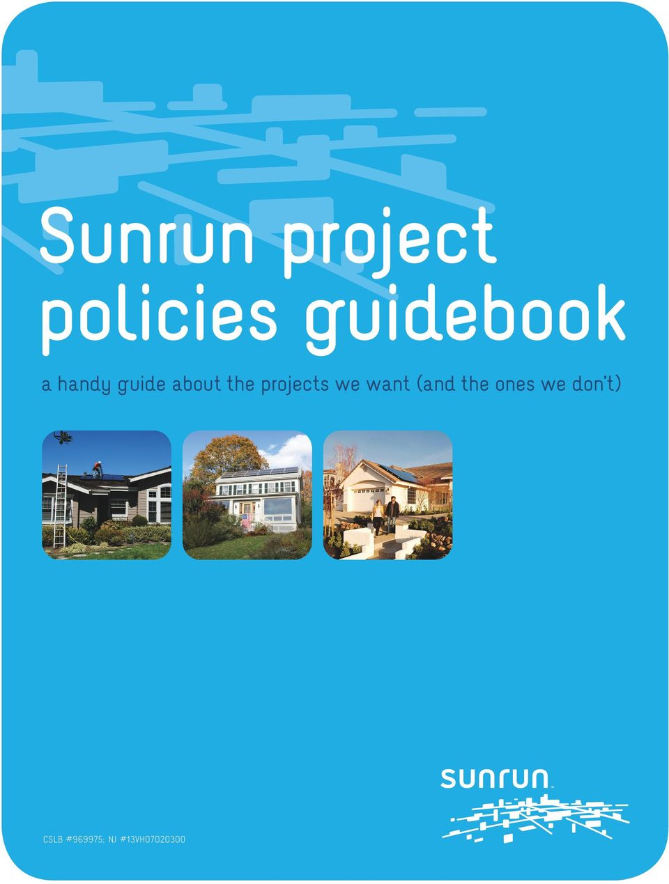 Sunrun project policies guidebook - PDF