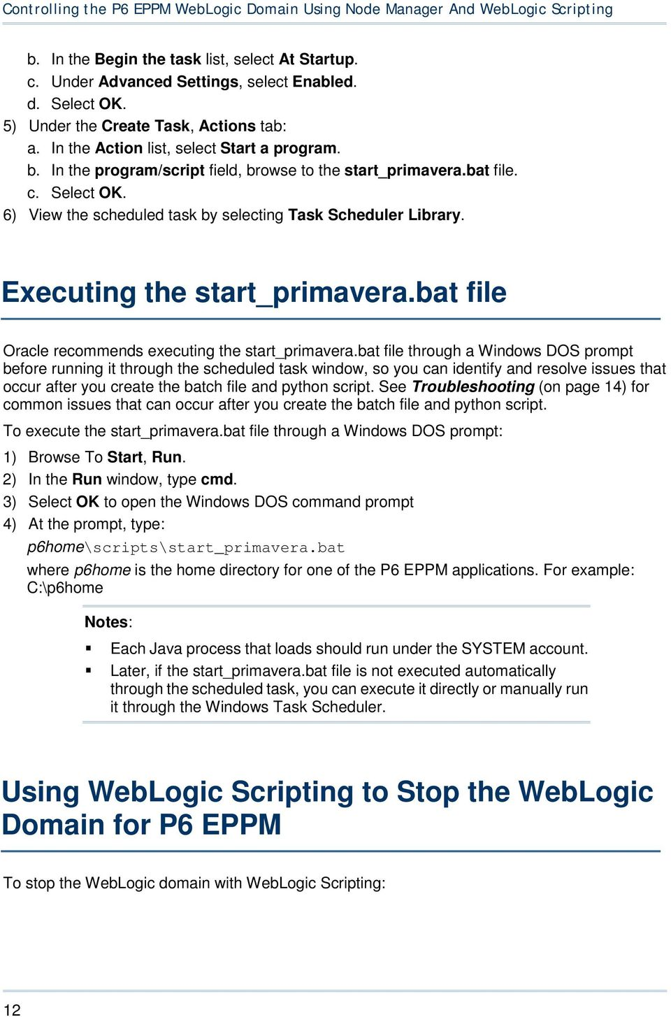 About Node Manager and the WebLogic Scripting Tool - PDF