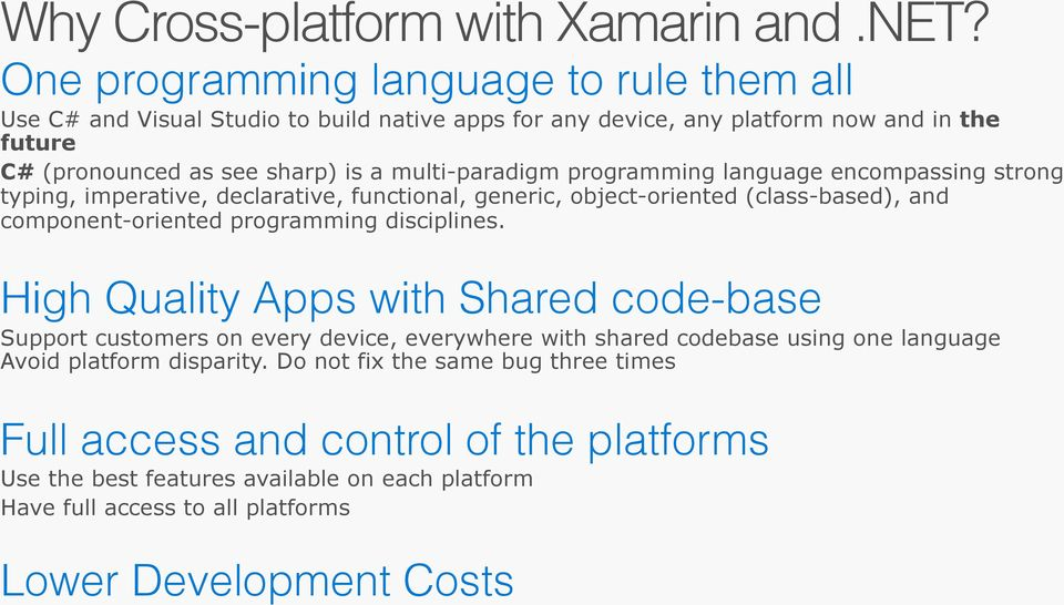 Building cross-platform mobile apps with Xamarin - PDF