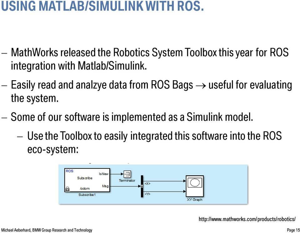 AUTOMATED DRIVING WITH ROS AT BMW  - PDF