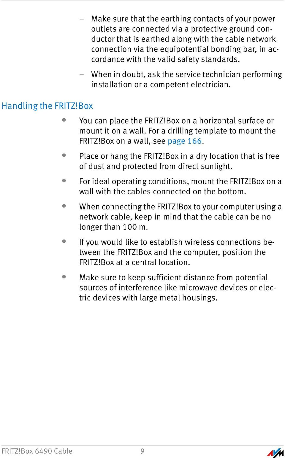 Fritzbox 6490 cable reset