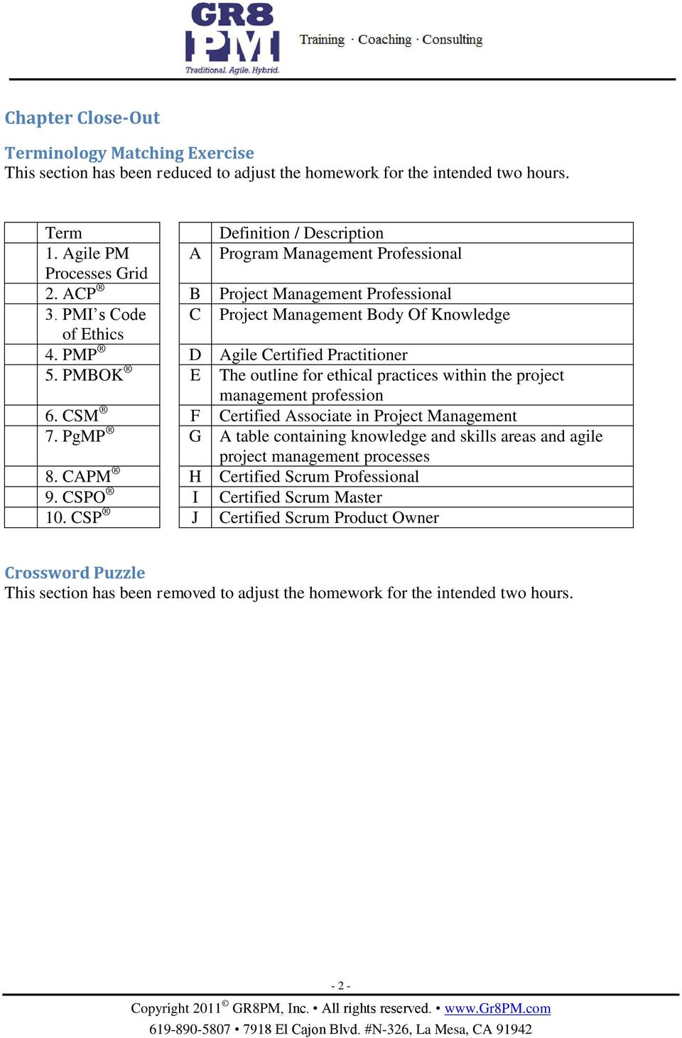 Acp Exam Prep Plus Desk Reference Including The Project Management