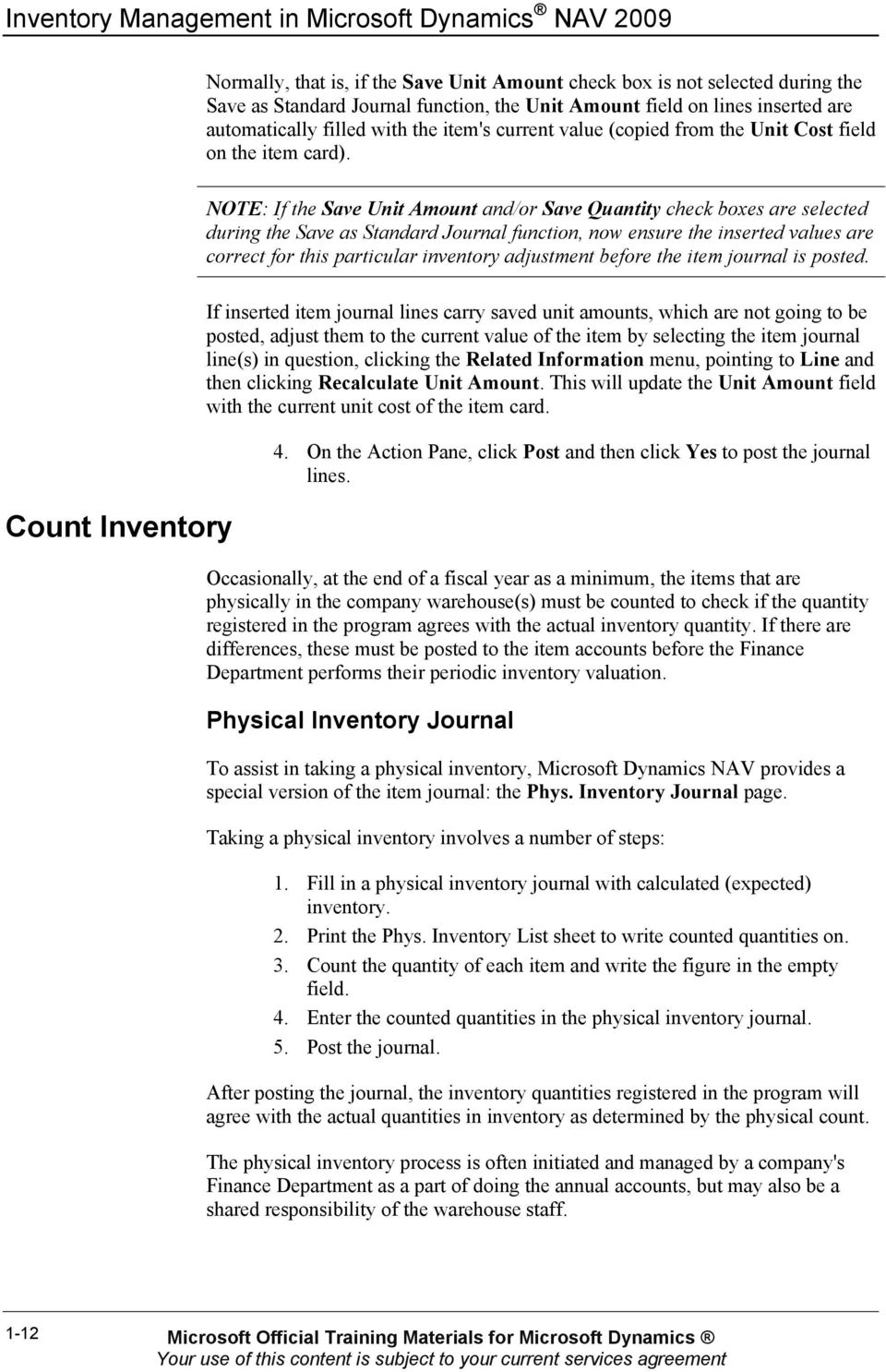 CHAPTER 1: INVENTORY CONTROL - PDF