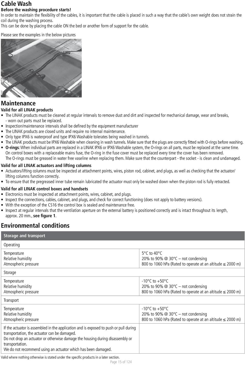 Linear Actuators And Electronics Pdf Linak Actuator Wiring Diagram This Can Be Done By Placing The Cable On Bed Or Another Form Of Support