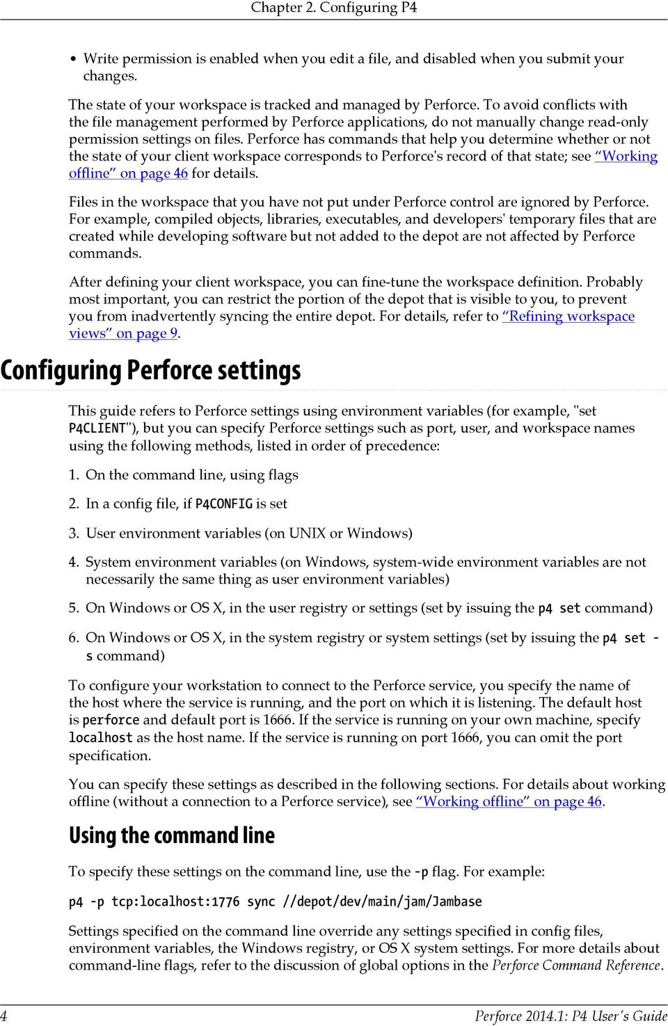 Perforce : P4 User's Guide  March PDF