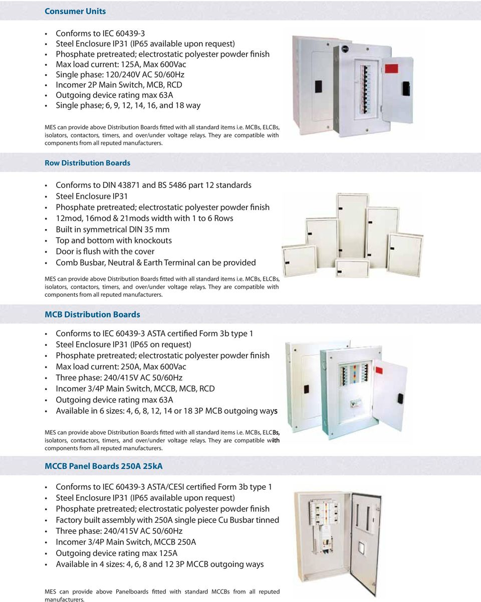 Middle East Switchgear Ind Ltd Pdf Electrical Power Mains Switches Sockets Rcd Rapid Online Ie Mcbs Elcbs Isolators Contactors Timers And Over Under Voltage