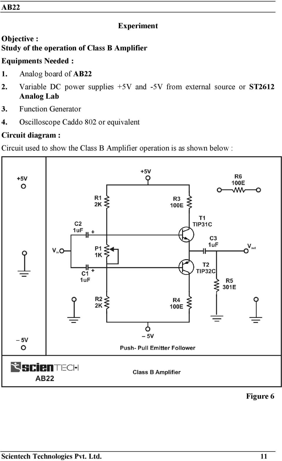 Operating Manual Ver Pdf Function Generator Circuit Diagram Pictures Variable Dc Power Supplies 5v And From External Source Or St2612 Analog Lab
