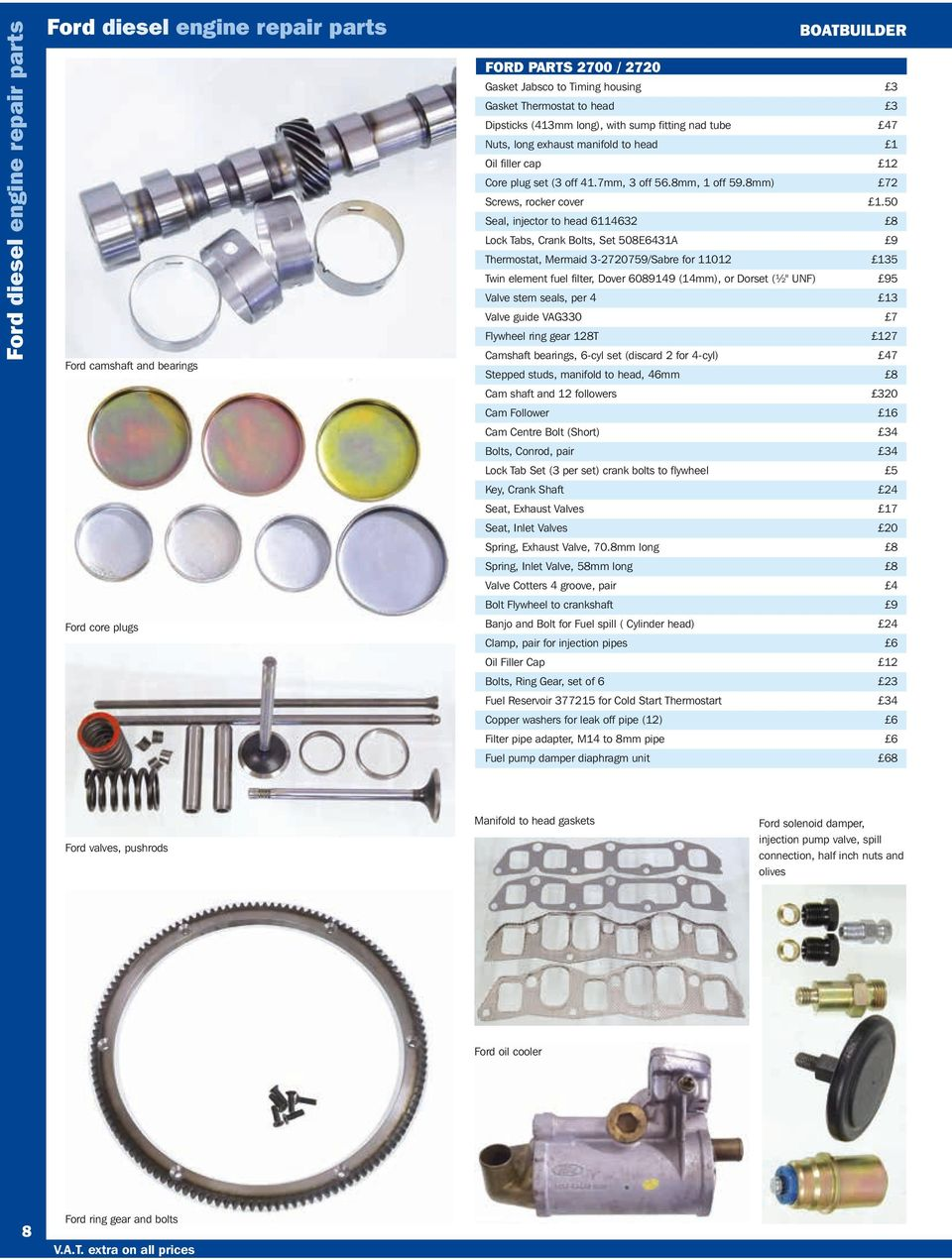Get Expert Advice From Practical Engineers Pricebook The Discount Ford 7 3 Fuel Filter Assy 50 Seal Injector To Head 6114632 8 Lock Tabs Crank Bolts Set 508e6431a