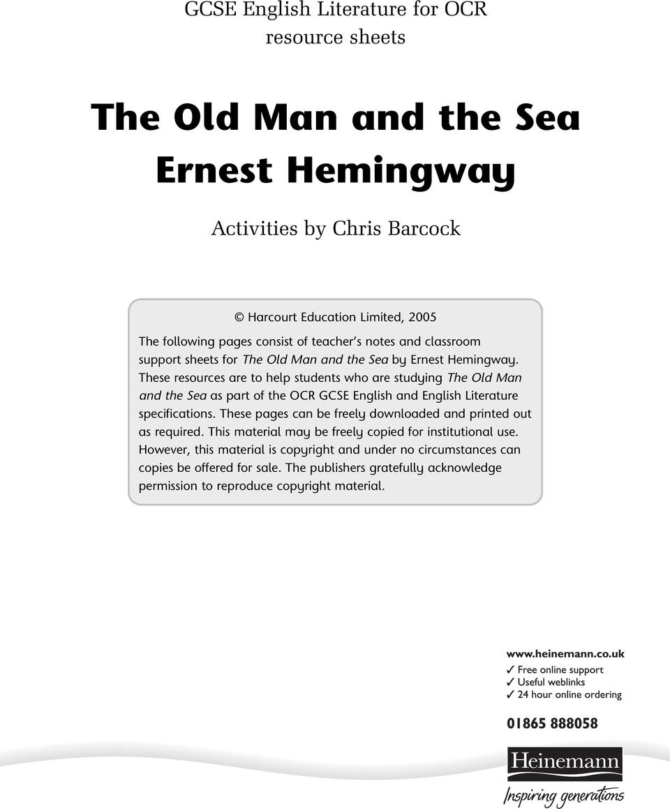 the old man and the sea how many pages