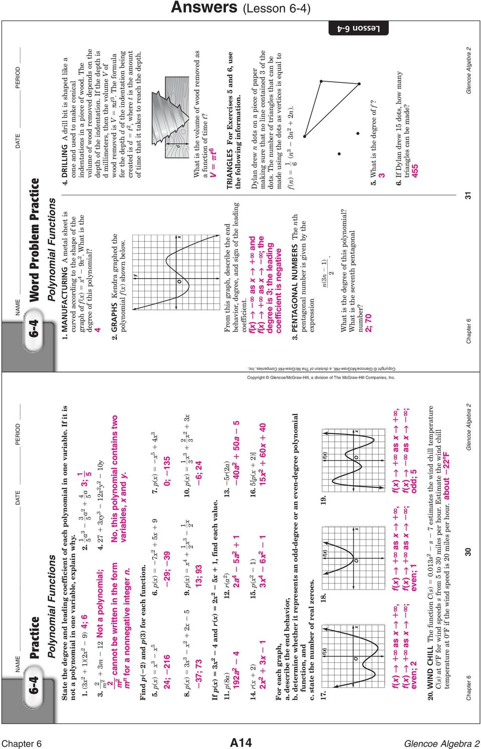 Answers Anticipation Guide And Lesson 6 1 Pdf