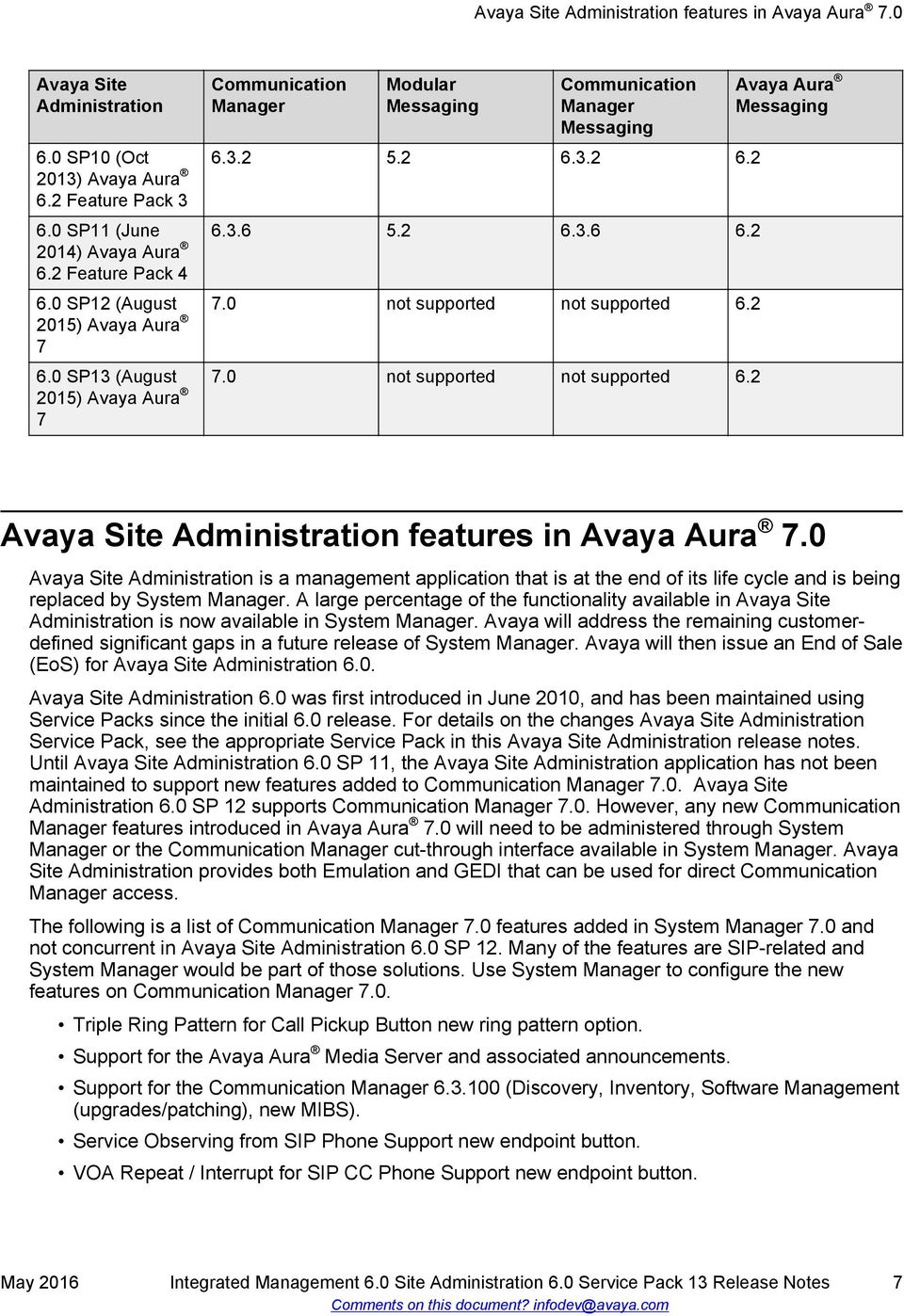 download avaya site administration windows 7