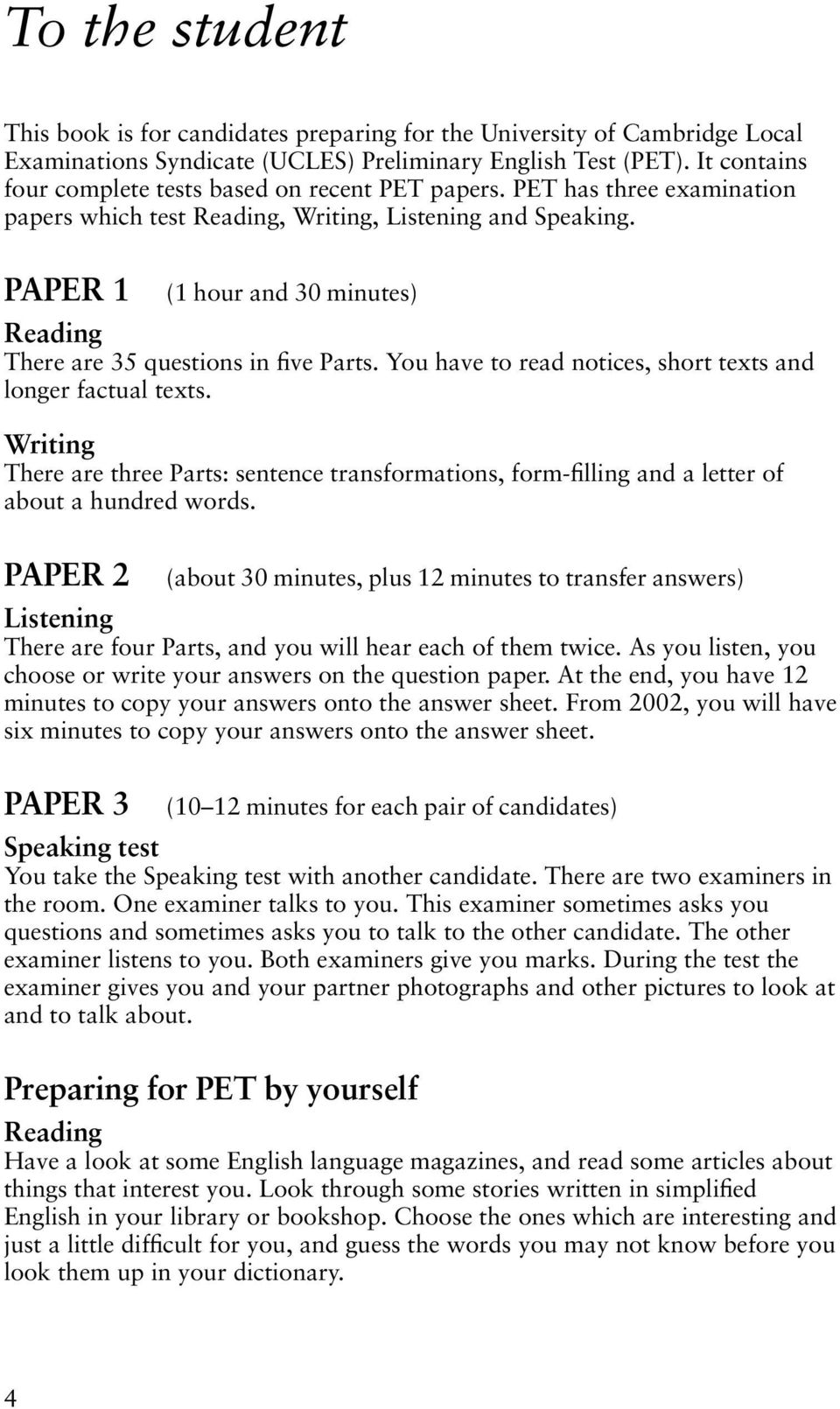 Form 2 English Exam Paper With Answer