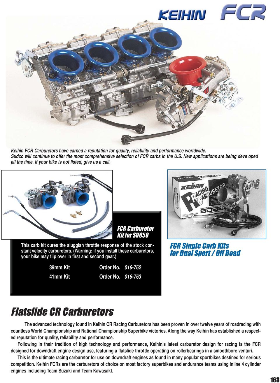 Flatslide Cr Carburetors Recommended Carburetor Size For Engine Sportster Wiring Diagram Further Kawasaki Keihin Cv Warning If You Install These Your Bike May Flip Over In First