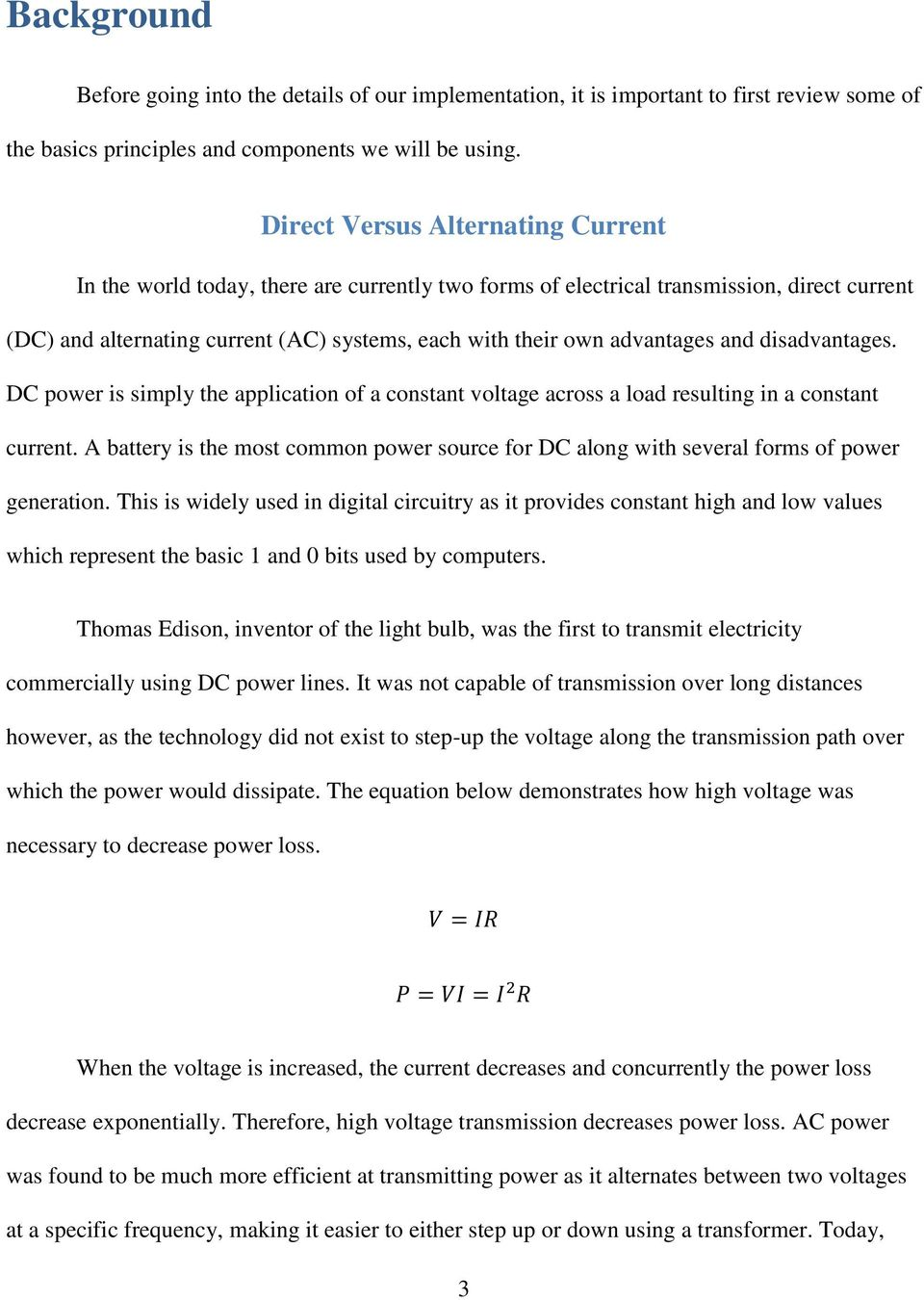Three Level Pwm Dc Ac Inverter Using A Microcontroller Pdf Circuits Power Supply Forward Transformerless To Advantages And Disadvantages Is Simply The Application Of Constant Voltage Across