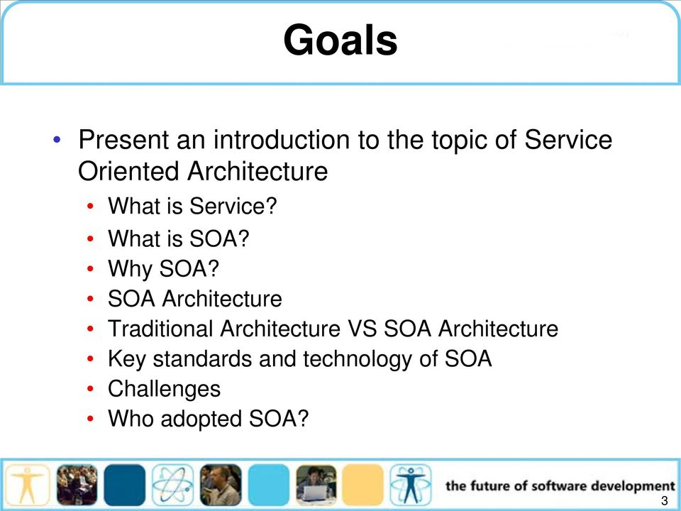 SOA Architecture Traditional Architecture VS SOA