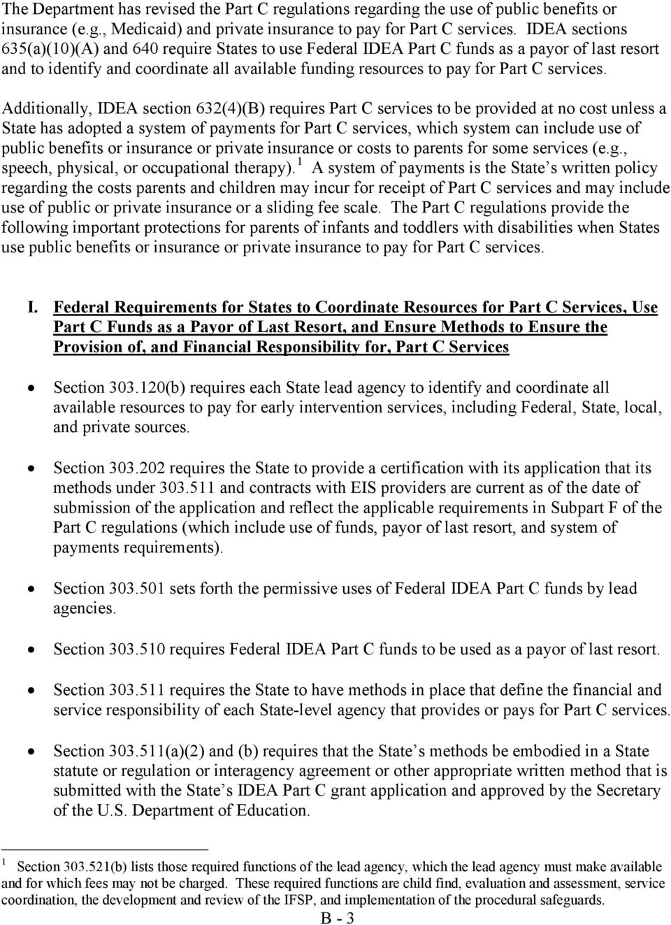 PART C OF THE INDIVIDUALS WITH DISABILITIES EDUCATION ACT
