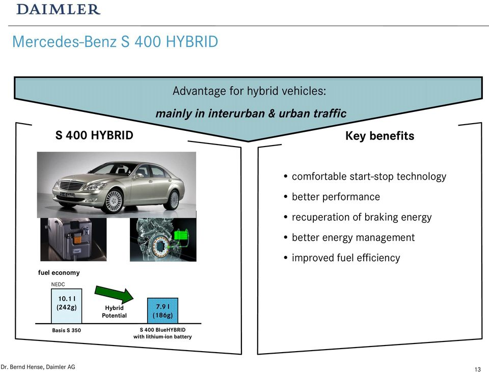 better energy management fuel economy NEDC improved fuel efficiency 10.