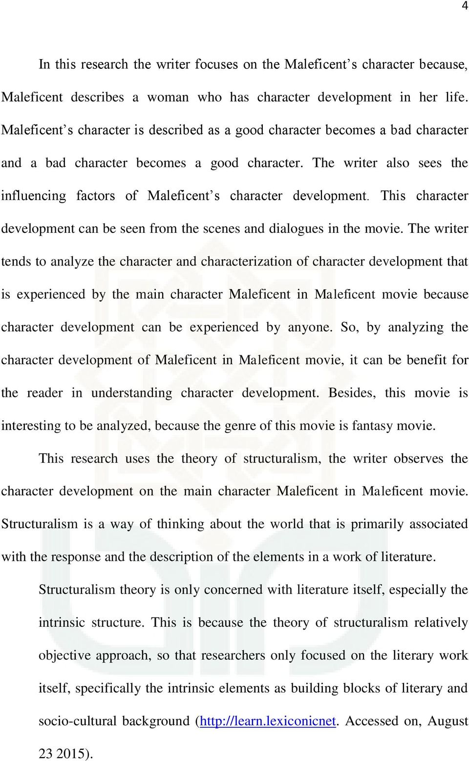 Maleficent S Character Development As Seen In Maleficent