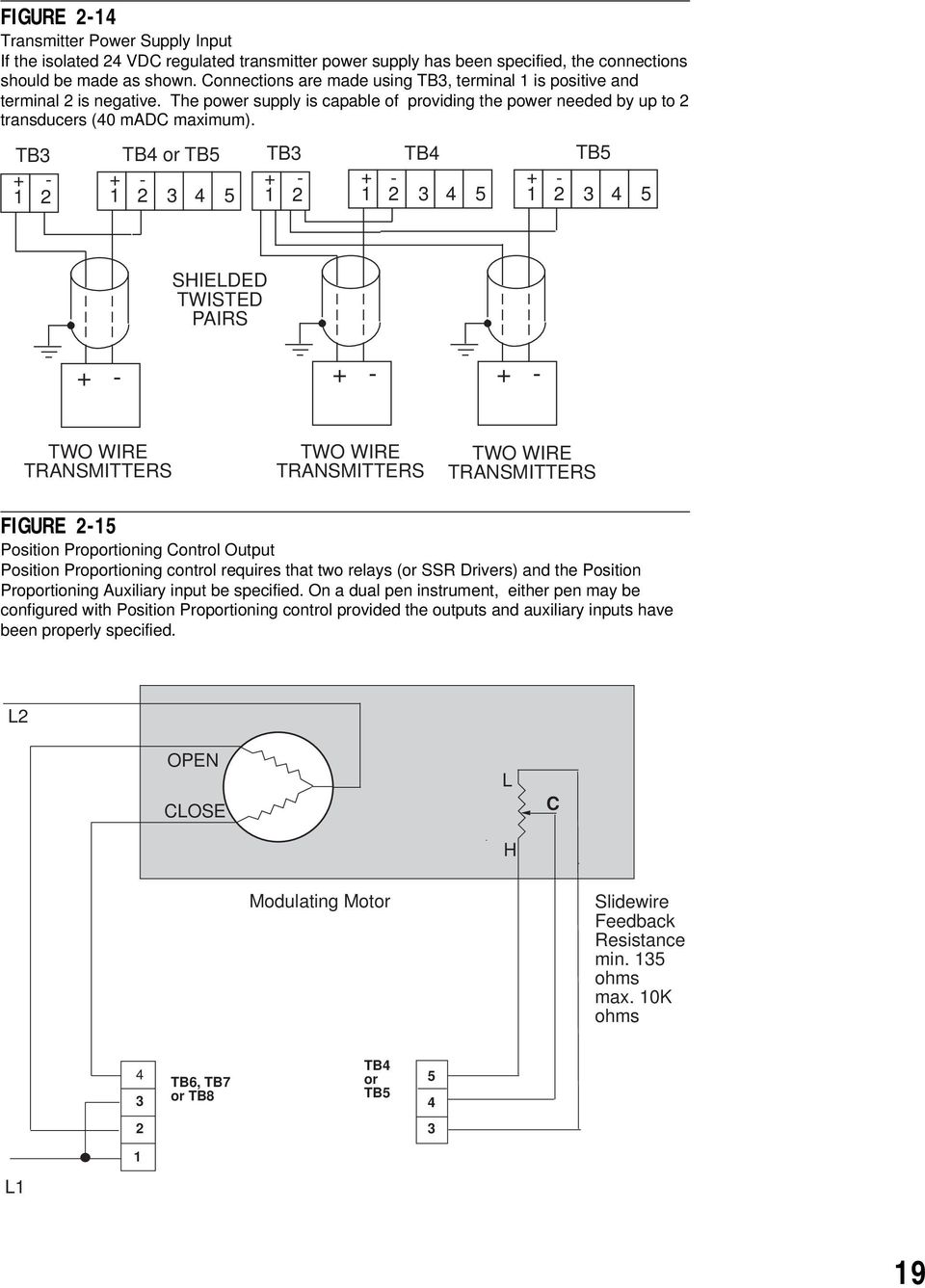 Mrc Installation Wiring Operation Manual One And Two Pen Circle Ssr 90 Diagram Tb3 1 2 Tb4 Or Tb5 3 4 5