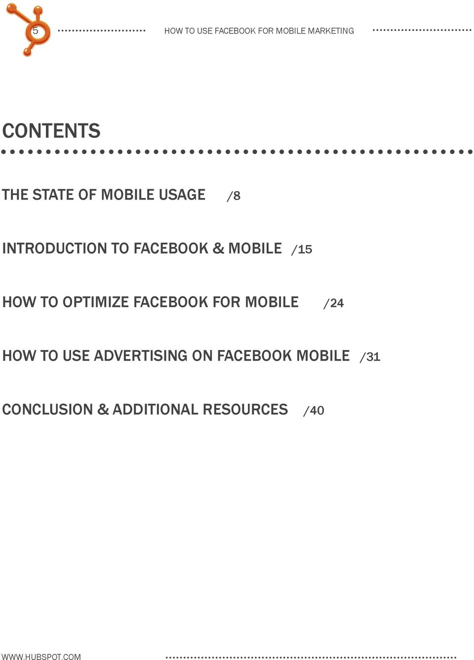 optimize facebook for mobile /24 How to use