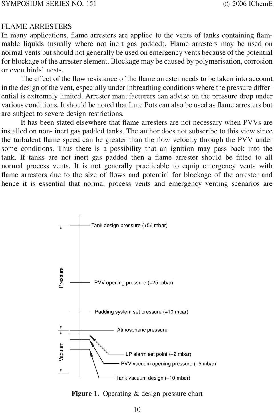 PRESSURE RELIEF CONSIDERATIONS FOR LOW-PRESSURE (ATMOSPHERIC