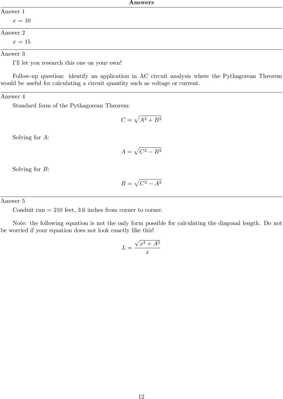 Trigonometry For Ac Circuits Pdf Circuit Dummies Voltage Or Current