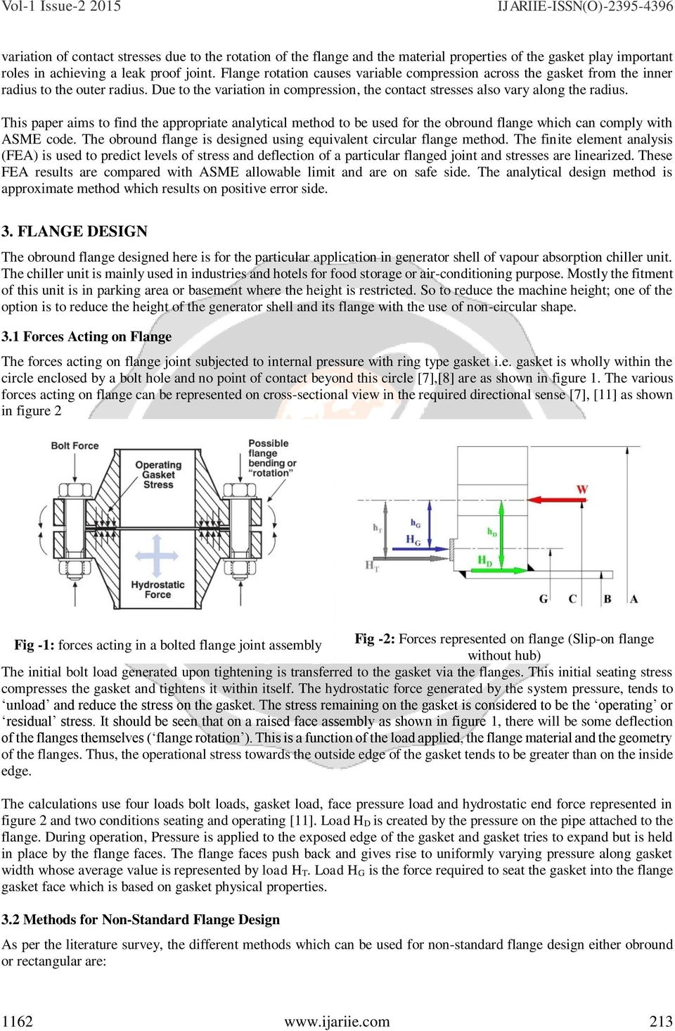 Design Of Obround Flange For Pressure Vessel Application By Thermax Wiring Diagram This Paper Aims To Find The Appropriate Analytical Method Be Used