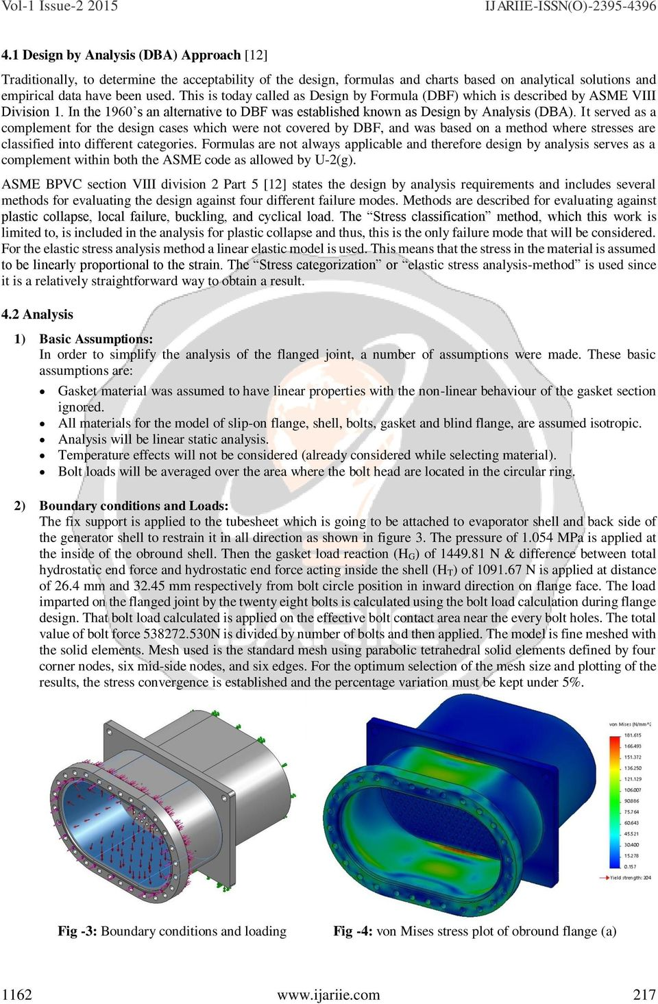 Design Of Obround Flange For Pressure Vessel Application By Thermax Wiring Diagram It Served As A Complement The Cases Which Were Not Covered Dbf