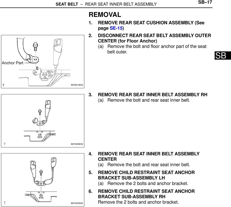 Toyota Corolla Repair Manual: Air bag sensor front lh