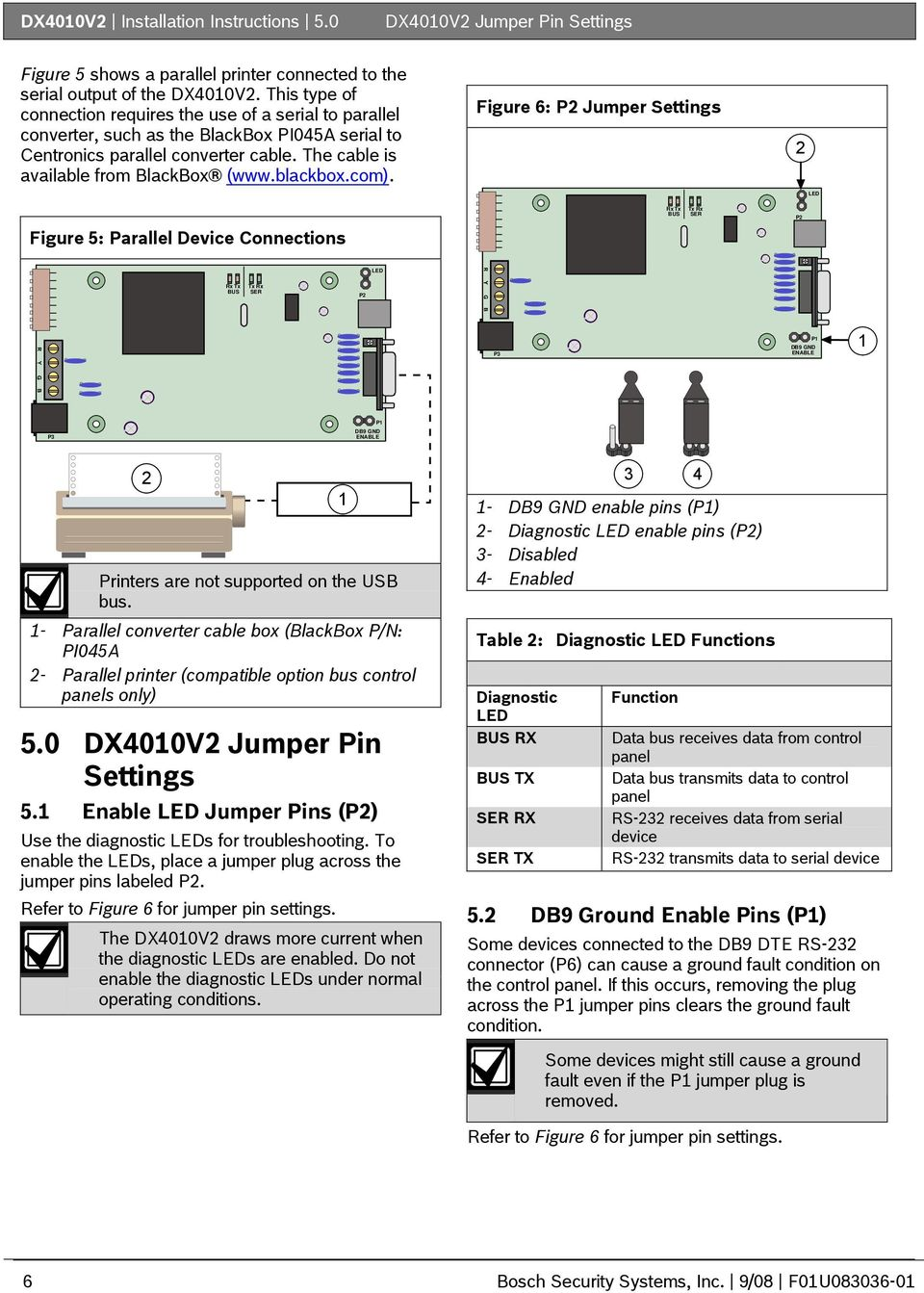 Dx4010v2 Installation Instructions Rs 232 Usb Serial Interface Diagram Together With Port Pinout On 9 Pin Rs232 Cable Blackboxcom
