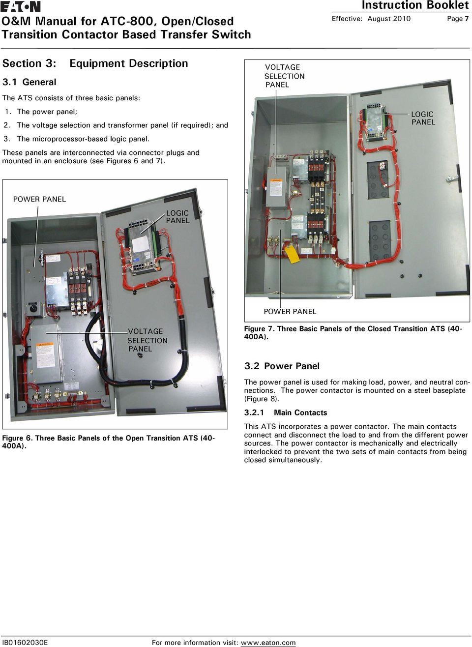 Eaton Atc Wiring Diagram Detailed Schematics Transfer Switch Diagrams Further Asco Automatic 800 Trusted Bcm Source 100