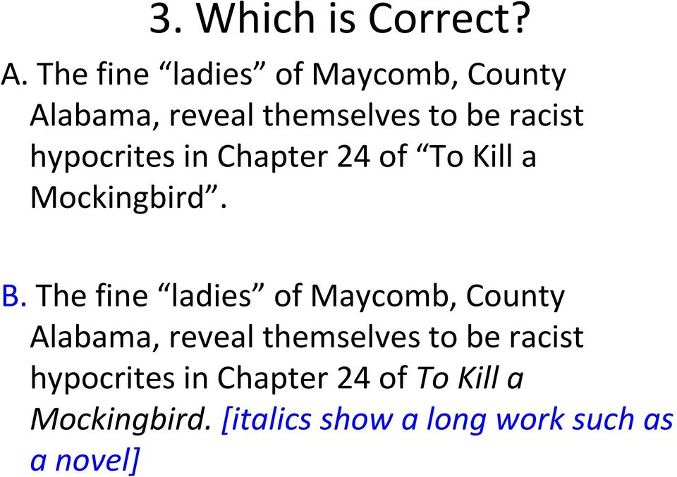 examples of hypocrisy in to kill a mockingbird