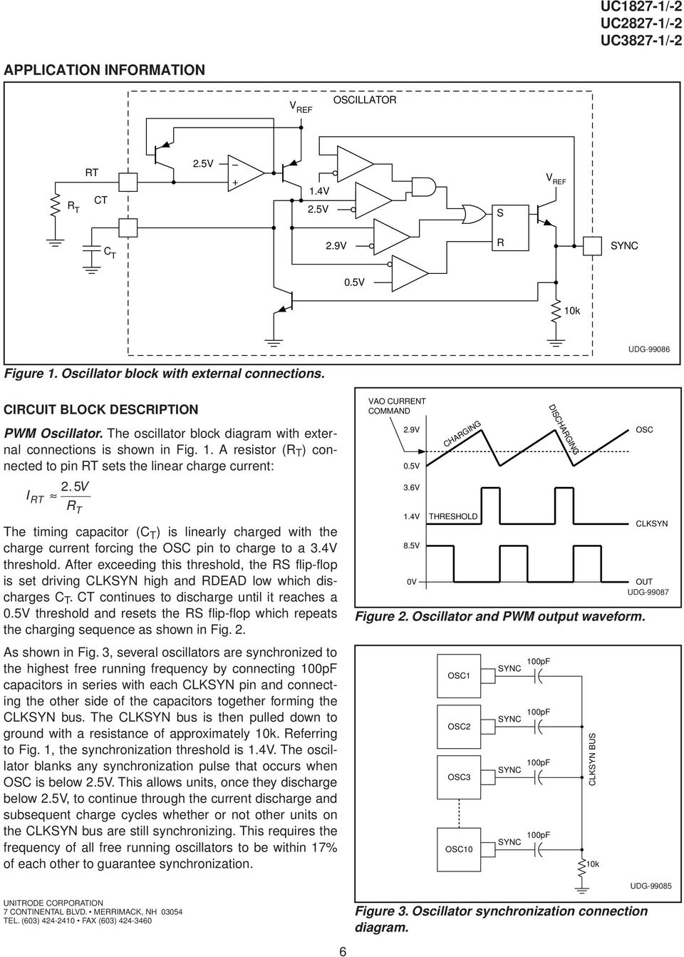 Buck Current Voltage Fed Push Pull Pwm Controllers Pdf Lm2576 In The Battery Charging Circuit Application R T Timing Capacitor C Is Linearly Charged With Charge Forcing
