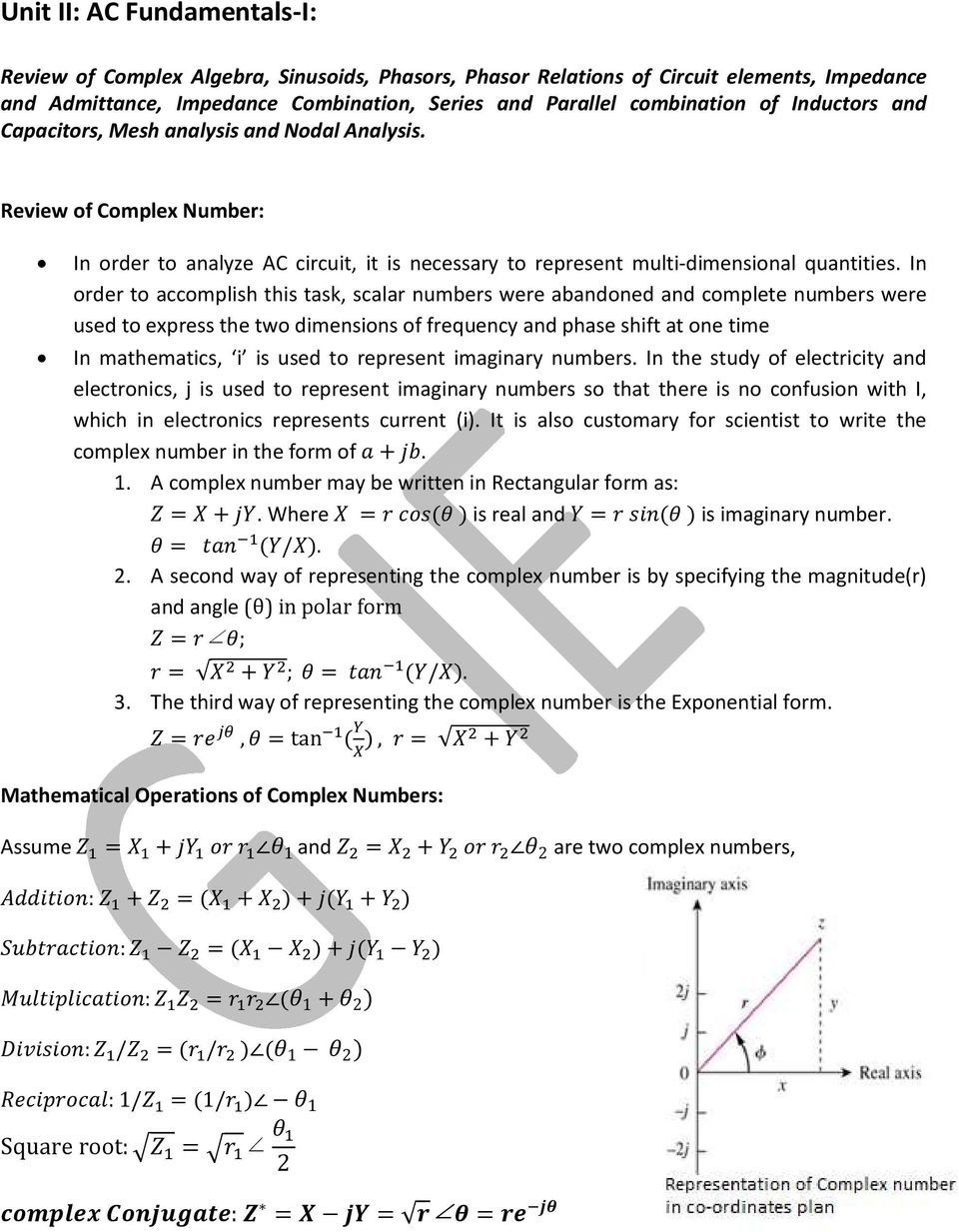 Basic Electrical Engineering Pdf Capacitor Impedance Calculator Electronics In Order To Accomplish This Task Scalar Numbers Were Abandoned And Complete Used