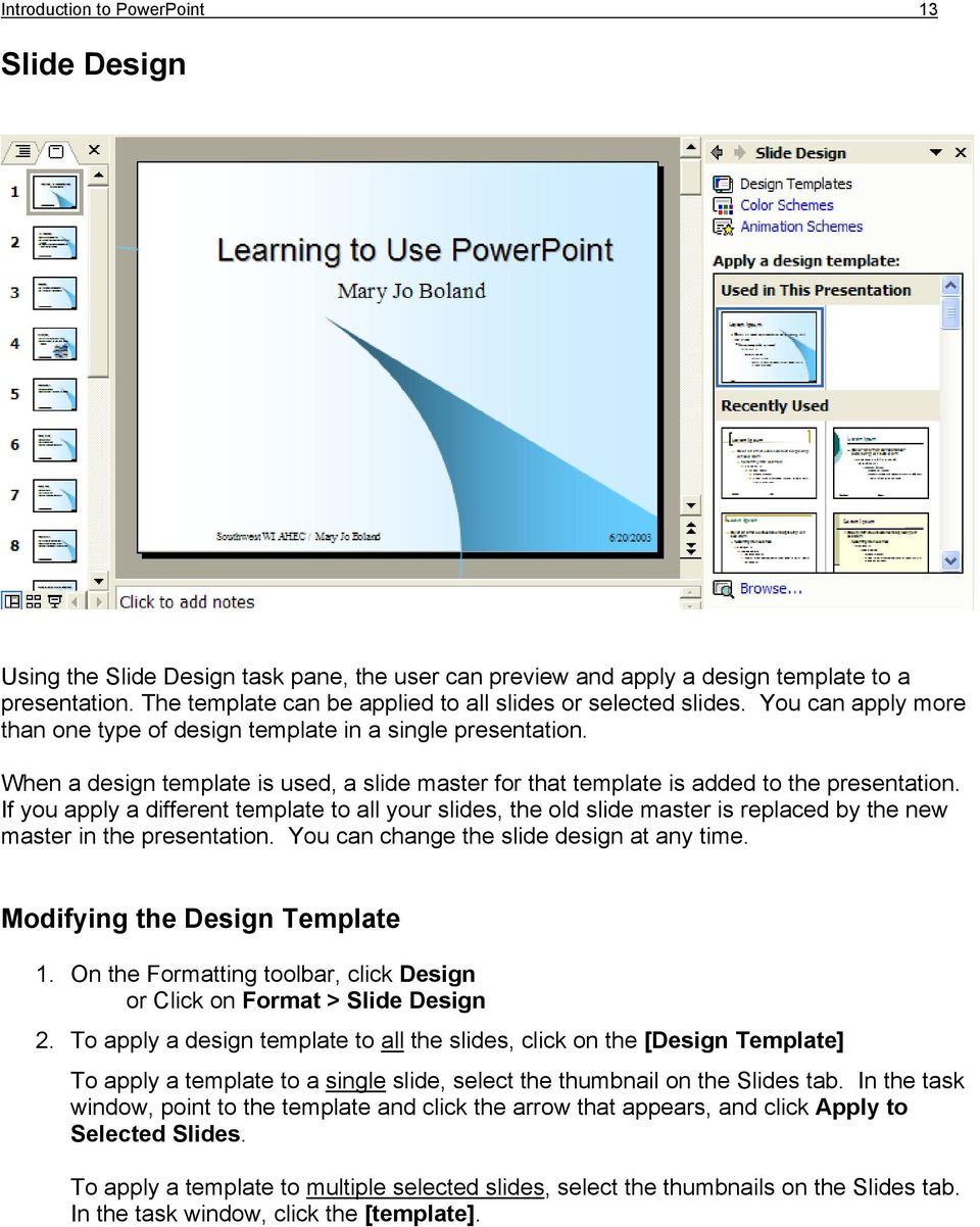 Introduction To Powerpoint Pdf