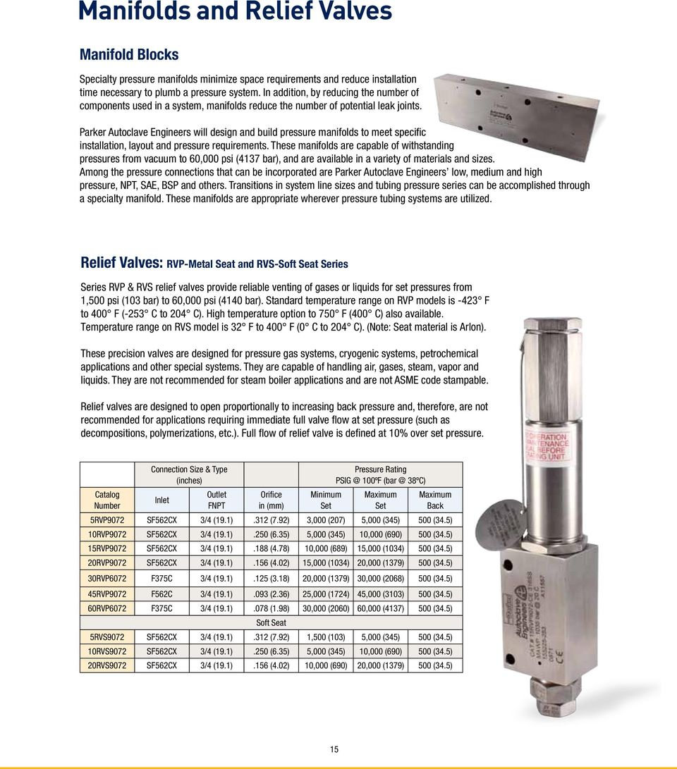Valves, Fittings and Tubing  Medium and High Pressure - PDF